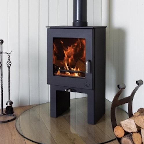 Dean Forge Sherford Slimline 5 High Eco Wood Burning Stove