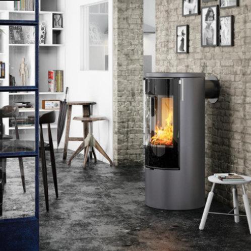 RAIS VIVA L 100 Classic Steel Frame Door Wood burning stove