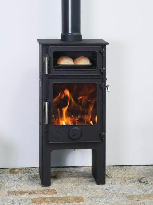 Dean Dartmoor Baker Plus 5 Eco 5kw wood burning cook stove