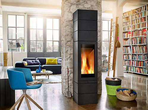 Skantherm Elements 400 FRONT Wood Burning Stove