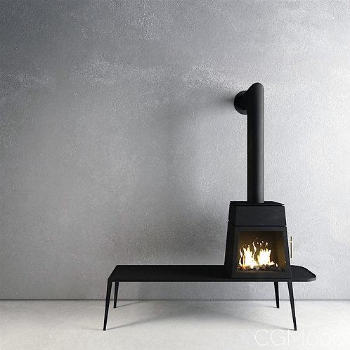 Skantherm Shaker Wood Burning Stove