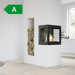 RAIS INSET 600/3 Peninsula Wood Burning Stove