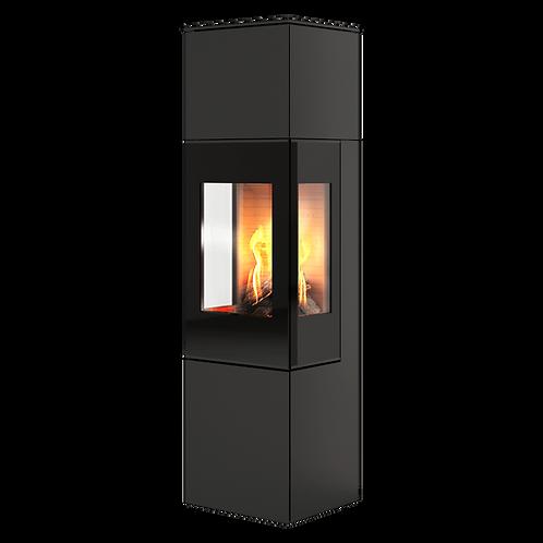 RAIS NEXO Classic 160 Glass Door Wood Burning Stove
