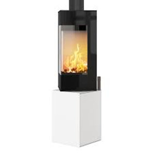 RAIS Q-Be Glass Door Wood Burning Stove