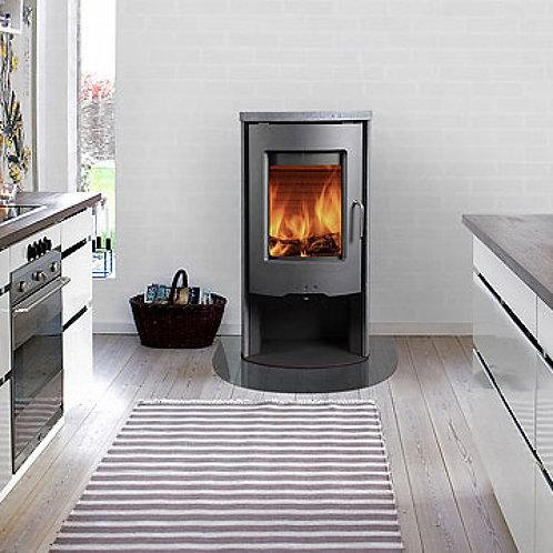 RAIS POLEO II Classic Steel Framed Door Wood Burning Stove