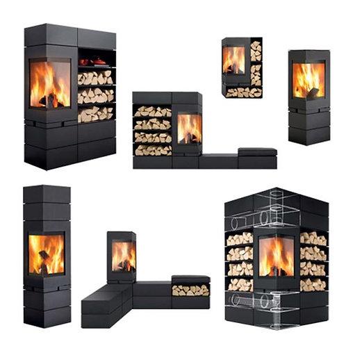Skantherm Elements 2.0 Wood Burning Stove