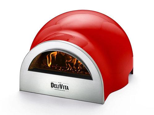 Delivita Pizza Oven - Chilli Red