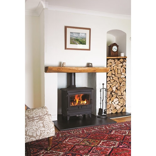 Dean Forge Croft Clearburn Small Eco 8kw Wood Burning Stove