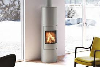 RAIS VIVA L 160 Glass Door Wood burning stove
