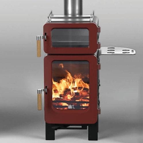 Ekol Baked Apple (inc Rear Flue Adaptor) Wood Burning Stove