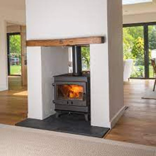 Dean Forge Croft Clearburn Double Sided Junior Wood Burning Stove