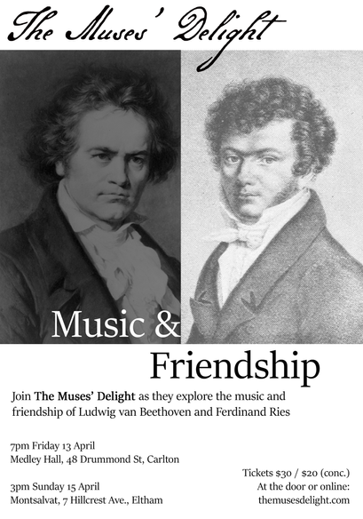 Music & Friendship / Beethoven & Ries