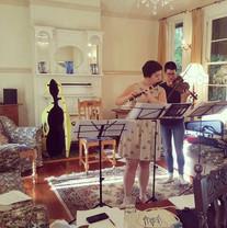 Busy rehearsing in Leura