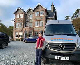 Charter our SKYEFARI minibus for your own adventure around the Isle of Skye