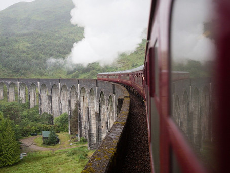 Travelling to the Scottish Highlands