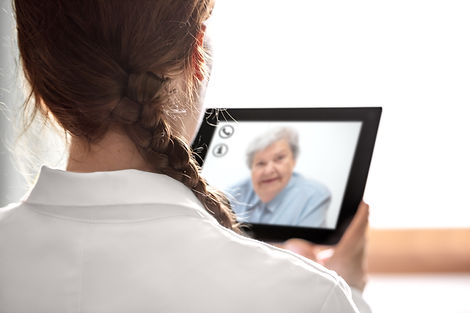 Doctor´s consultation with telemedicine