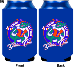 Koozie - Orange or Blue
