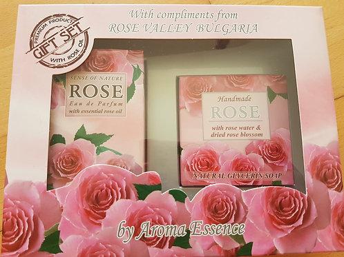 """Geschenkset """"Parfum + Seife"""""""