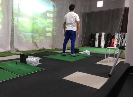 軸王とゴルフ