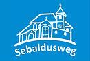 Logo_Sebaldusweg_weiß_und_blauer_Hinterg