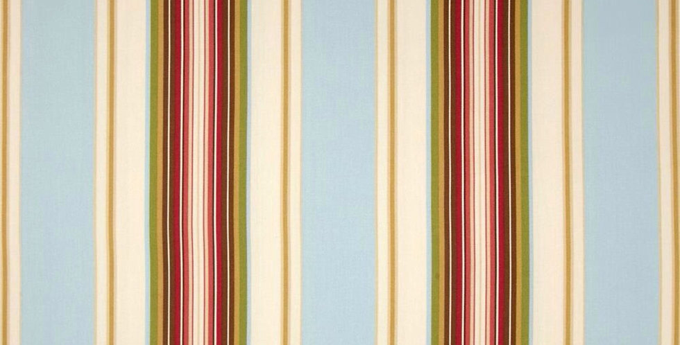 Claires Stripe II Natural Blue