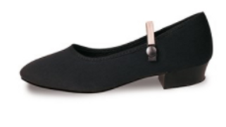 Canvas Character Shoes (Low and Cuban Heel)