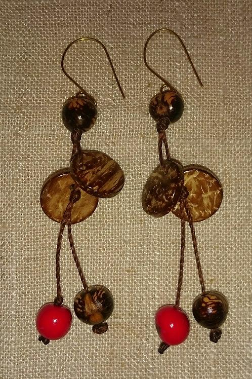 Boucles açaï/coco rouge