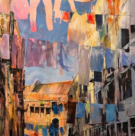 Venetian wash day