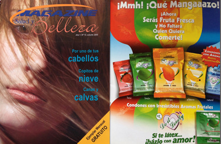 Anuncio de revista Condones Do it lovely - Corporativo DL
