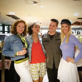Modeshow Vd Kam Amersfoort met Fred van Leer