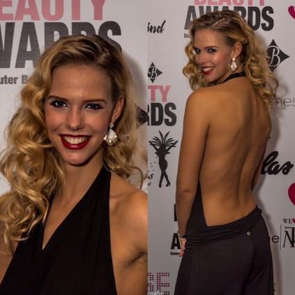 Presentatrice The Big Beauty Awards 2016