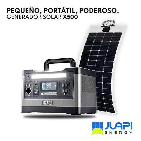 Generador Solar Portátil Rich Solar X500 - Panel Portátil