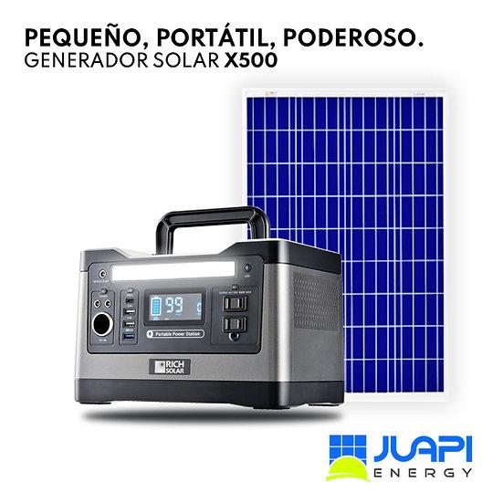 Generador Solar Portátil Rich Solar X500