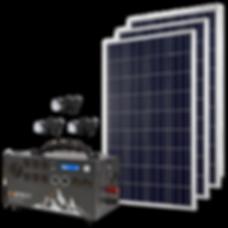 Kit Apex con Paneles Solares Solar Storm