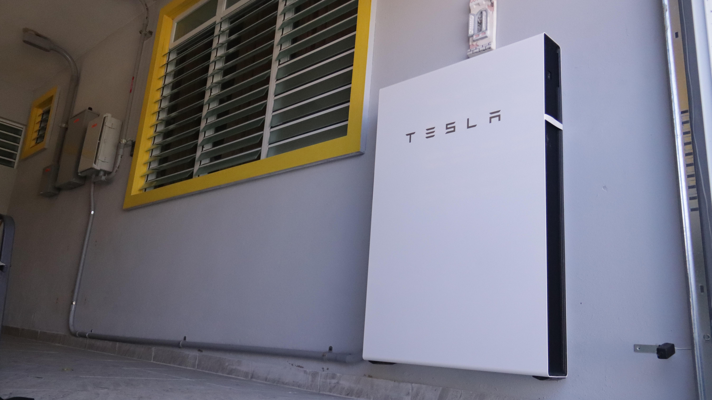 Batería Tesla Instalada