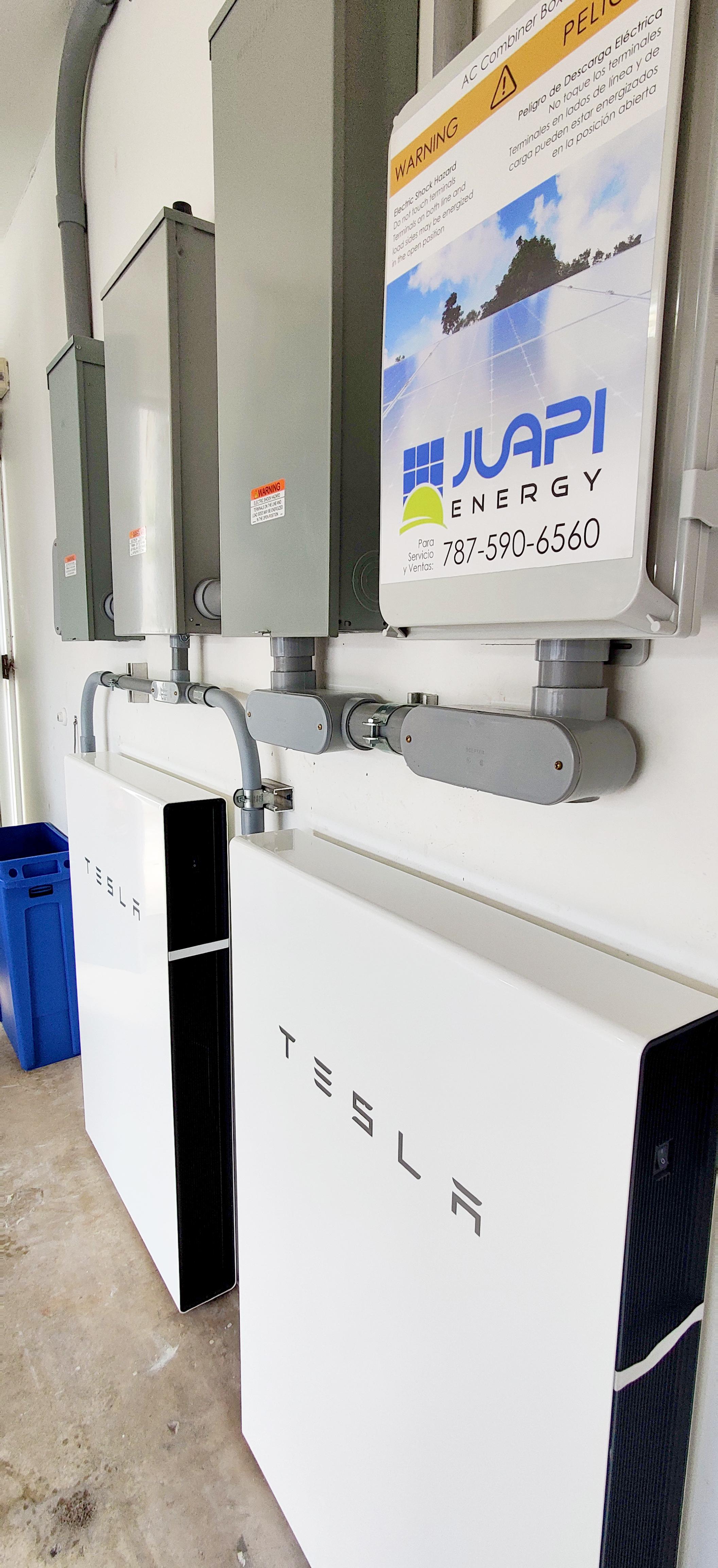 Instalacion de 2 Teslas