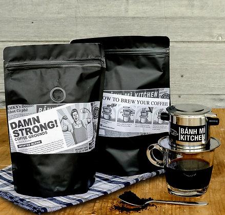 BMKN Damn Strong! Coffee Grounds