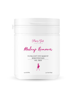 makeup remover pads Flirty Girl Lash stu