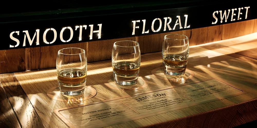 Se degustate un bicchiere di Irish Whiskey sentirete i profumi del malto e del legno
