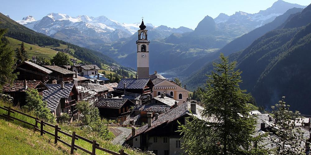La val d'Aosta e il suo vitigno autoctono il Fumin
