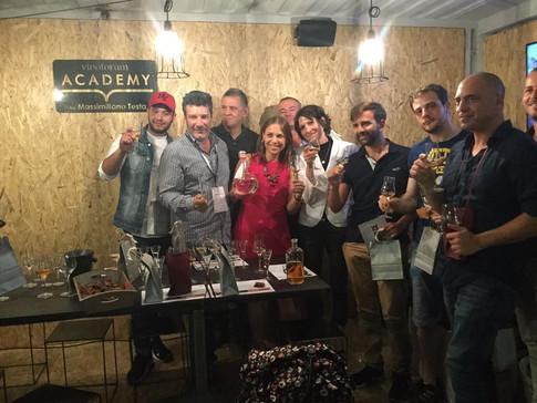 Top Tasting Grappe Nonino con Cristina Nonino_Vinòforum Academy