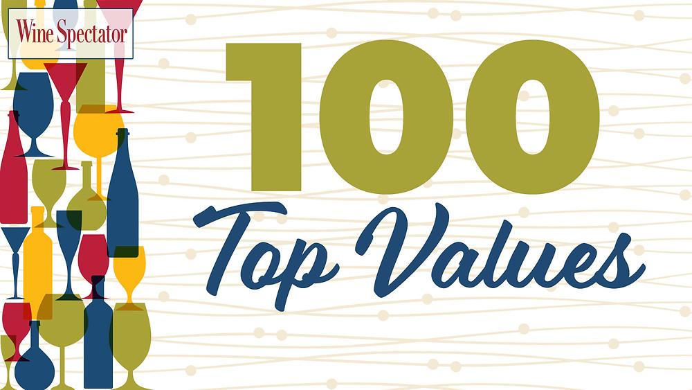 Il vino italiano si posiziona in tutte le categorie della Top 100 Top Values di Wine Spectator