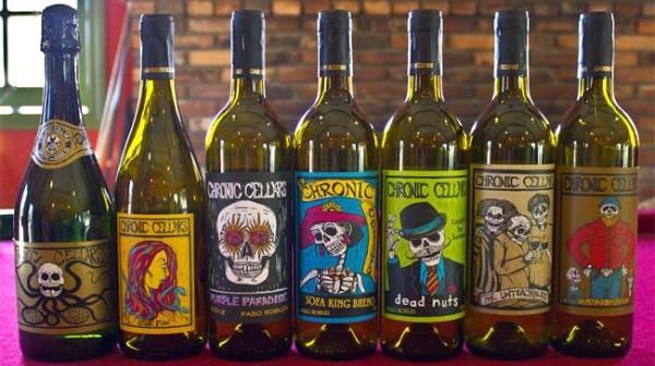 Chronic Cellar hanno dato vita a delle etichette che puntano sul pop-noir