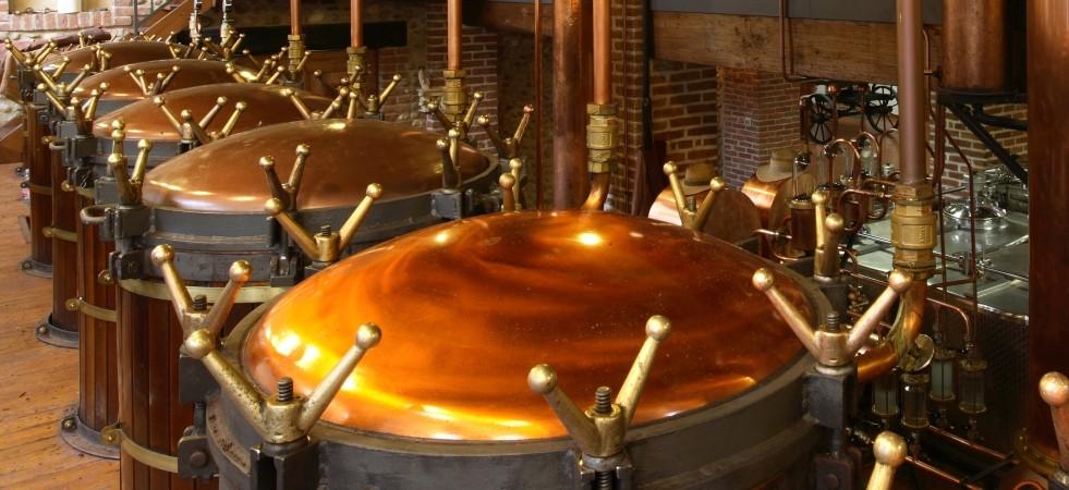 Alambicchi per la distillazione della grappa