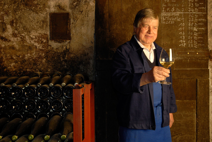 Sebastian Stocker il cantiniere di Terlano che faceva invecchiare i vini bianchi