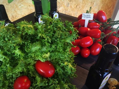 Pomodori a grappolo Bio