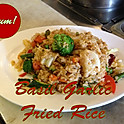 Basil Garlic Fried Rice