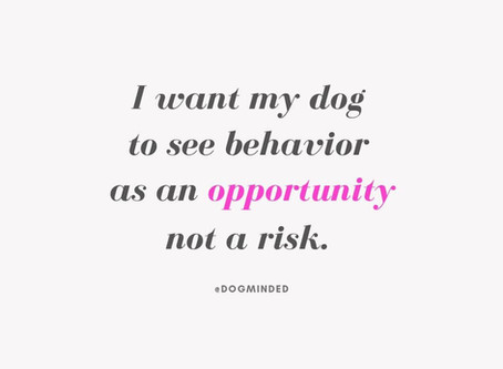 Behavior is an Opportunity