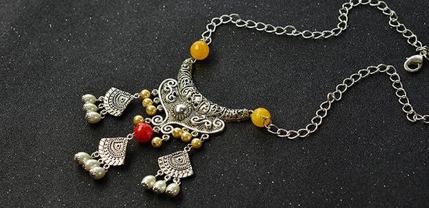 Antike Schmuck basteln mit Perlen   kunsthandwerk