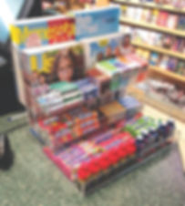 Literature Holders, Store Displays, Acrylic Displays, Food and Bulk Dispensers, Cubes, Display Cases